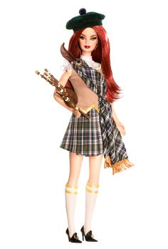 Scotland Barbie® Doll | Barbie Collector.. / 24.25.5