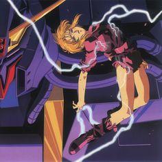Lynn Minmay, Zeta Gundam, Gundam Art, Old Anime, Art Drawings, Scene, Illustration, Posts, Fictional Characters