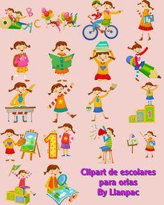 Calendarios para Photoshop: Orla Infantil especial para colegios (Photoshop)(Psd)