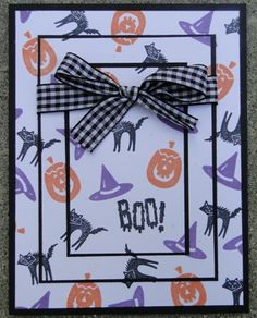 Boo by Paper Deva - Cards and Paper Crafts at Splitcoaststampers