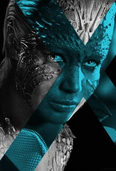 Mystique X-Men: Days of Future Past Fan Made Poster