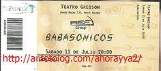 babasonicos entradas : el 11 de julio en el teatro greison de monte grande grosa banda | ahorayya2