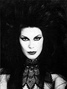 Patricia Morrison (of The Gun Club, The Sisters of Mercy, and The Damned)