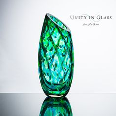 The most unique unity ceremony idea.  Mix glass crystals at your wedding and our glass blowers create a one of a kind piece for you.