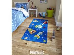 The Hong Kong rug is handmade in China and offers a luxurious, deep, soft Acrylic pile. This bright rug is easy to clean and colourfast. The Space design in Blue is a popular choice for childrens bedrooms and play areas. High Pile Rug, Childrens Rugs, Blue Space, Blue Carpet, Space Theme, Buy Rugs, Bedroom Accessories, Bedroom Themes, Bedroom Ideas