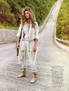 gisele #JetSetHippieStyles I could do the hair, with the right info. Just the hair, fo-shizzle.