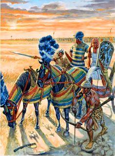 Egyptian war chariot