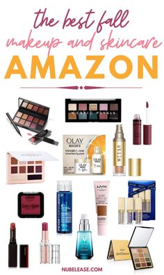 Some of the best fall makeup and skincare products can be found on Amazon! Check out these fantastic fall beauty products from amazon. #fallmakeup #fallskincare #fallbeauty Beauty News, Beauty Hacks, Skin Makeup, Beauty Makeup, Best Drugstore Makeup, Amazon Beauty Products, Makeup Must Haves, Skin Care Tools, Fall Makeup