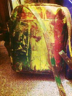 Back of Jamaican design Bag