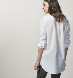 CAMISA RAYAS - Camisas & Blusas - WOMEN - España - Massimo Dutti