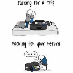 So true!! Happy Travel Tuesday✈. Tag a friend that travels.  #Travelmeme