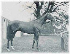 Omaha. 1935 Kentucky Derby winner; Triple Crown winner. Jockey: Willie Saunders. Winning time: 2:05:00
