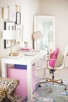 Bureau Féminin Une Déco Parfaite Pour Un Ee Travail Idéal Chic Office Decoroffice