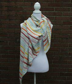 Crochet shawl pattern crochet shawl crochet by SoHappyInRed