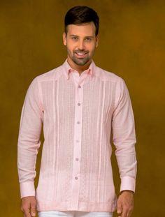 Frixio - Ref 08 400 Camisas Guayaberas Para Hombre a85db80d2c94