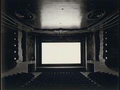 Photographs from Hiroshi Sugimoto's movie theater series