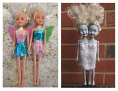 Project: Zombie Siamese Twin Dolls