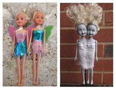 Project: Zombie Siamese Twin Dolls