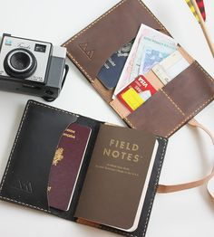 Arrow Leather Passport Holder by From Marfa With Love on Scoutmob Shoppe