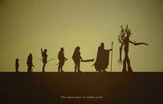 lord of the rings book illustrations art | The most prominent races in J.R.R. Tolkien's Lord of the Rings books.