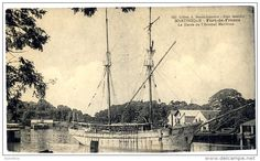 Fort de France, la darse de l'arsenal maritime