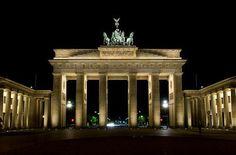 Berlín - Puerta de Brandenburgo.   Somewhere I would like to go