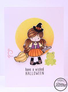 Wicked Halloween for A Jillian Vance Design.