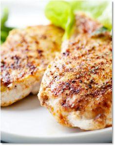 Low FODMAP Maple mustard roasted chicken with potato wedges   http://www.ibssano.com/low_fodmap_recipe_maple_mustard_chicken.html