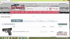Como comprar - Loja Airsoft