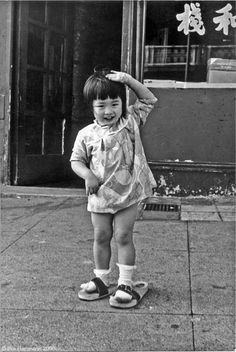 Leland Wong Photography | Ilka Hartmann's 1971 photo of a small girl in…