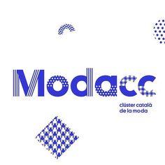 Associació Catalana de la Moda i el Tèxtil by Toormix #visuelleuk #branding by visuelle.co.uk