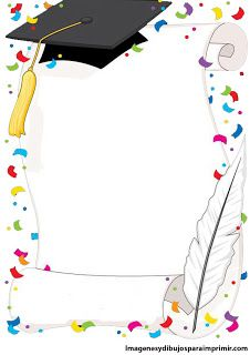 kindergarten graduation design for progress report Graduation Clip Art, Kindergarten Graduation, Graduation Cards, Page Borders Design, Border Design, Boarders And Frames, School Frame, Borders For Paper, Writing Paper