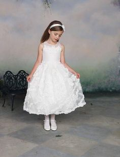 162af4bf588  gt  gt  Click to Buy  lt  lt  A Line Flower Girl Dress