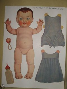 DyDee Baby - (CL for 1 doll & clothes) #P-1-9