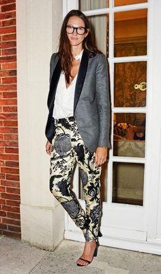 Jenna Lyons Outfit 2017 Street Style