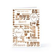 We can address, stamp and mail your cards on any date you choose.