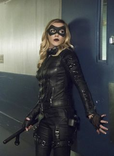 Arrow - Laurel Lance/Black Canary played by Katie Cassidy.