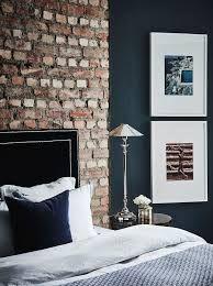 brick and blue walls ile ilgili görsel sonucu