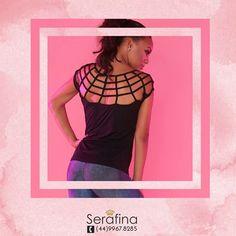 Nada com um look casual hiper moderno e confortável, não é mesmo?  Compre o seu aqui  www.serafinstore.com.br