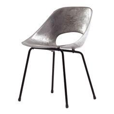 aluminum tulipe chair | pierre guariche.