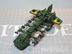 Salamander dropship  | Epic 40k miniatures