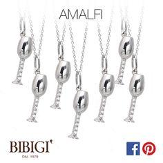#Bibigi : Ciondoli in oro bianco e diamanti