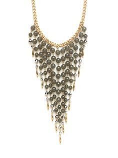 Gold Bib Necklace by R.J. Graziano on Gilt.com#GiftMe