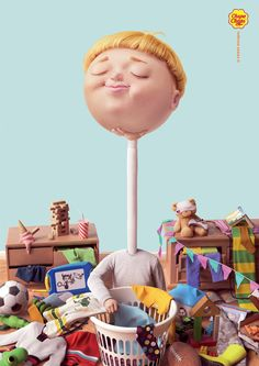 Chupa Chups Print Advert By Cheil: Tidy up, Homework, Music Advertising Awards, Creative Advertising, Advertising Design, Ads Creative, New Print, Print Ads, Cgi, Cannes, Homework Music
