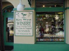 Key West Winery - Key West - . Large variety of sweet/semi-sweet wines.