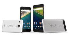 Conoce los nuevos Nexus 5X y Nexus 6P