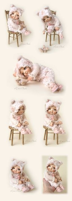 Муся Wet Felting, Needle Felting, Soft Sculpture, Sculptures, Bunny And Bear, Realistic Baby Dolls, Sweet Little Things, Shabby, Felt Art