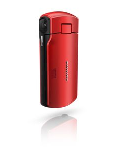 Philips camera, plastic, red