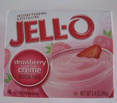 1 18.25 ounce Strawberry Cake Mix (I prefer Pillsbury) 1 3.4 ounce box of Jello Strawberry Creme Pudding Mix 3 large eggs 8 ounces of sour cream 1/2 cup water 1/3 cup oil