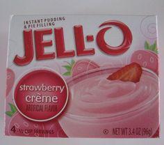 Click to buy Strawberry Creme Jello Pudding Mix